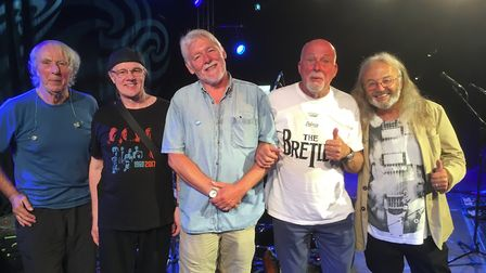 Fairpoint Convention help kick off Sidmouth FolkWeek 2018 in style at the pre-festival event. Pictur