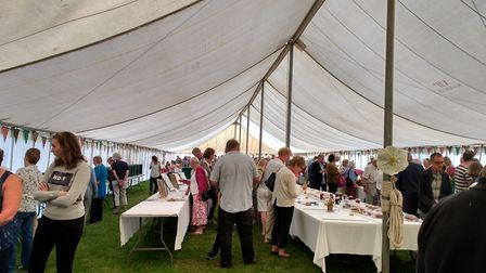 Art and crafts on display as well as garden produce at annual show in Sidford. Picture: Contributed