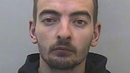 Mihaita Rosca, aged 26, who burgled Exmouth's Holy Trinity Church, has been jailed after admitting b
