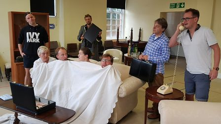 """Funny Money, a """"crazy"""" farce being staged at the Manor Pavilion Theatre, Sidmouth. Picture: Contribu"""