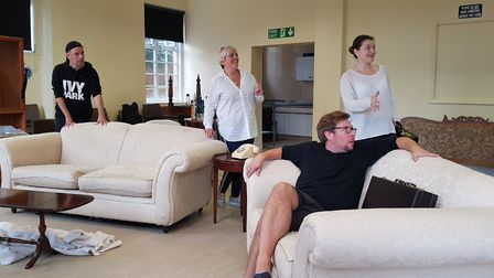 Mistaken identities and farcical situations in Funny Money at the Manor Pavilion Theatre. Picture: C