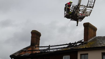 A Fire broke out in a flat above The Pine Store, Broad Street, Ottery St Mary. Ref sho 37 18TI 1488.