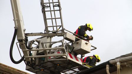 A Fire broke out in a flat above The Pine Store, Broad Street, Ottery St Mary. Ref sho 37 18TI 1482.