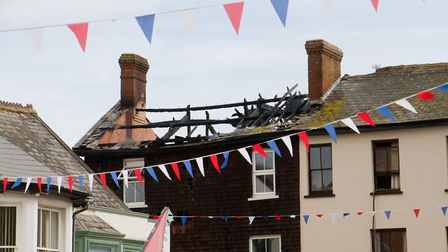 A Fire broke out in a flat above The Pine Store, Broad Street, Ottery St Mary. Ref sho 37 18TI 1439.