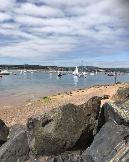 In around Exmouth Harbour. Picture: Paul Hezzell