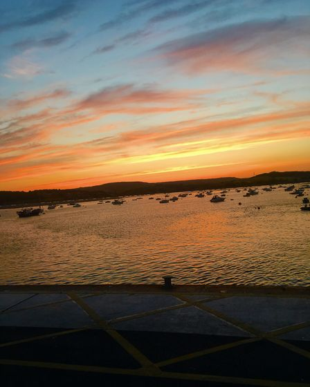 A beautiful night at Exmouth beach. Picture: Rowan O''Shaughnessy