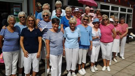 The ladies that took part in another excellent Lady Captain's Day at Sidmouth. Picture: CONTRIBUTED