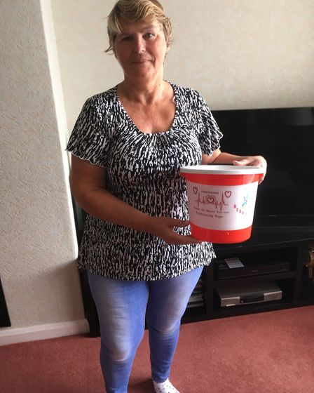 Marion Baker is organising a family fun day called Heartfest to raise money to benefit cardiac patie