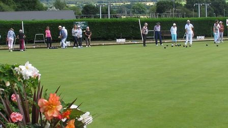 Action from the Captains Day that was enjoyed by over 50 mermbers at Ottery St Mary.