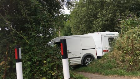 The travellers at Tipton. Picture: Archant
