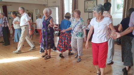 The Otter Squares find dancing is good exercise, mentally stimulating and sociable. Picture: Contrib