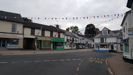 The bunting is up, Ottery is making its final touches to welcome the world's best cyclists taking pa