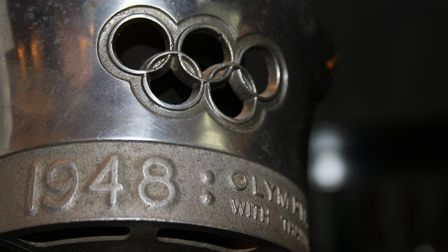 The 1948 Olympic torch.
