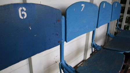 The Wembley Bench at the Deer Park Country House.