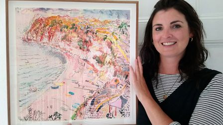 Emma Molony project manager and fundraiser at the Thelma Hulbert Gallery, Honiton. Picture: Alison S