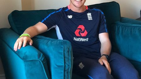 So-far so good! Cricketer Dom Bess has finally been able to go furniture shopping thanks to Potbury'