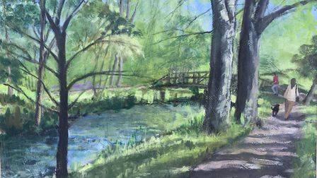 Early Spring in the Byes, by Trixie Walker. Picture: Contributed