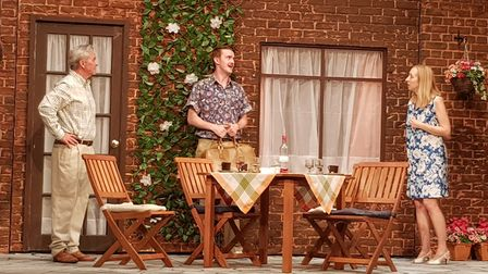 Relatively Speaking, one of the 12 plays staged at the Manor Pavilion Theatre this summer. Picture: