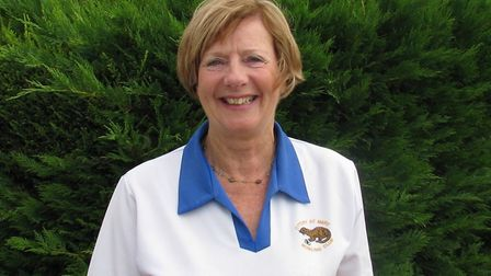 Sharon Kenny, who won the Ottery St Mary mixed triples, the ladies two-woods and the ladies four-woo