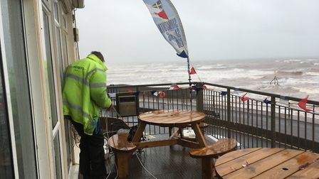 Stormy weather meant sailing events were called off at Sidmouth Regatta