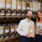 Alice Bardwell and Dan Prince are the owners of Ottery's first zero waste shop called Fillfull. Ref
