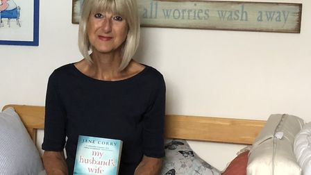 Jane Corry and her book My Husband's Wife. Picture: Contributed