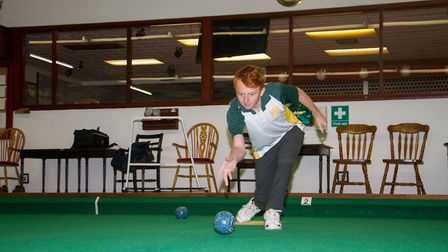 Axminster Bowls player James Windsor. Ref edr 33 18TI 9916. Picture:: Terry Ife