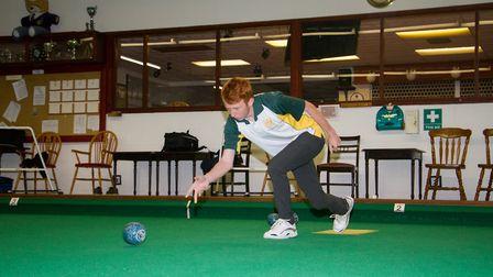 Axminster Bowls player James Windsor. Ref edr 33 18TI 9913. Picture:: Terry Ife