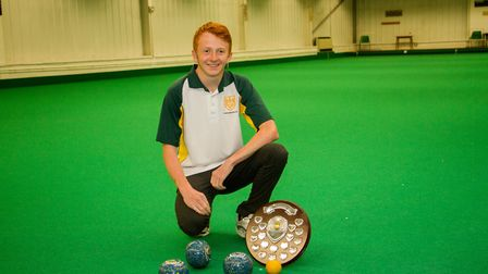 Axminster Bowls player James Windsor. Ref edr 33 18TI 9907. Picture:: Terry Ife
