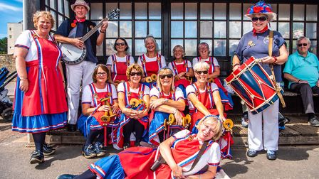 The Sidmouth Steppers, who are looking for new members. Picture: Kyle Baker Photography and Videogra