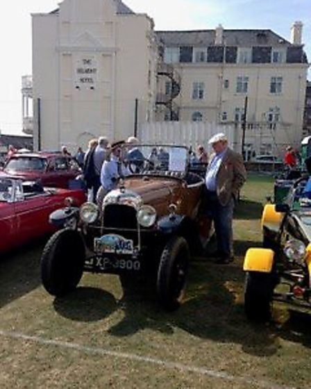 Sidmouth Classic Car Show. Picture; Sidmouth Chamber of Commerce.