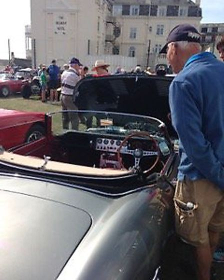 Sidmouth Classic Car Show. Picture: Sidmouth Chamber of Commerce.