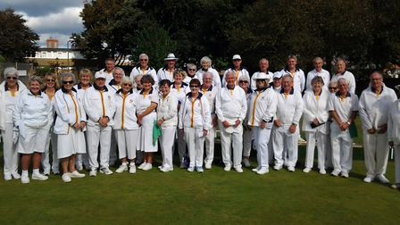 The closing drive at Sidmouth Bowls Club to end the 2018 outdoor season. Picture CONTRIBUTED