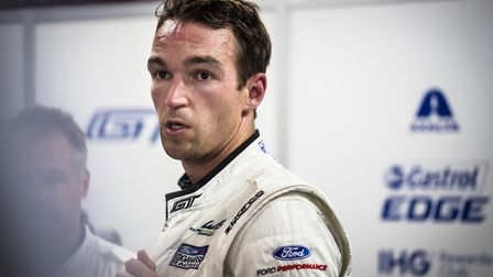Harry Tincknell at the 2018 World Endurance Championship race in Japan. Picture DREW GIBSON.