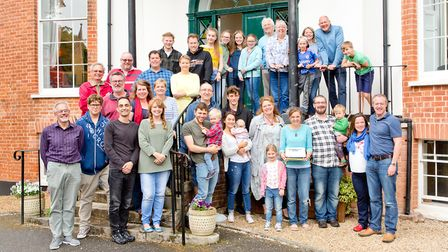 Members of the Community Chuch which is starting to hold services in Sidmouth. Picture: Sarah Aires