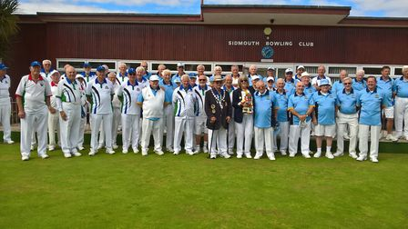 Sidmouth Bowls Club played host to the Devon Bowls meeting against Isle of Wight Bowls. Picture CONT