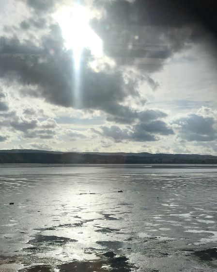 Taken from Exmouth train across Woodbury/Lympstone/Exton. Picture: Paul Hezzell