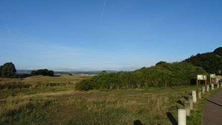 I was over at the Maer, on a sunny morning of Saturday 15th September 2018. Picture: Luke Eveleigh