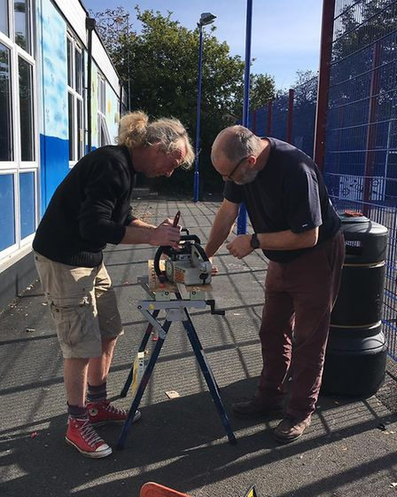 The first Sidmouth Repair Cafe. Picture: Sidmouth Repair Cafe organisers.