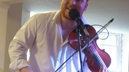 Ben Holder who will be playing during the jazz weekend. Picture: Henry Rosenberg