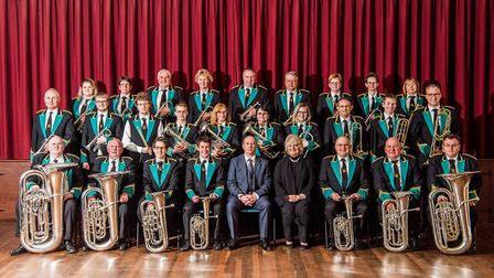 Sidmouth Town Band. Picture: Kyle Baker