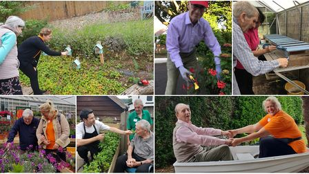 New Sensory Garden Unveiled at 'outstanding' Malden House in Sidmouth. Pictures: Malden House