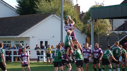 Action from the Sidmouth 2nds meeting with Exmouth III. Picture Deb Conway