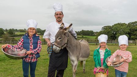 The foodelicious event will celebrate the best of local food and drink at The Donkey Sanctuary.