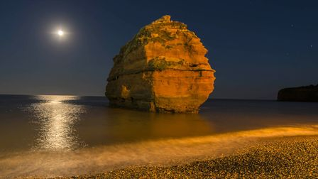 The rock formations in the Ladram Bay area are impressive to say the least, particularly on a warm s