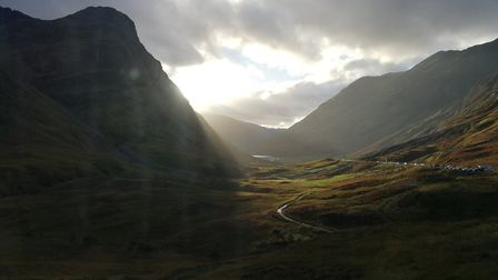 Glencoe, on the way to Ben Nevis. Picture: Mark Bishop