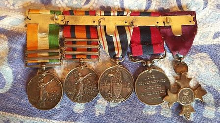 Police are appealing for help to find stolen medals taken from a Sidmouth home. The collection inclu