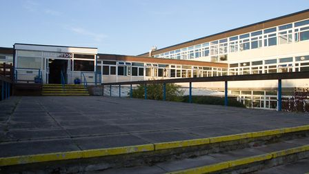 Sidmouth coleege public consultation for their new school building. Ref shh 42 18TI 3108. Picture: T