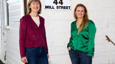 Cathy Debenham and Louise Thompson of Lighthouse Sidmouth CIC. Ref shs 43 18TI 3800. Picture: Terry