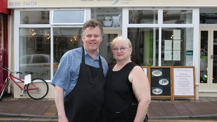 Steve and Lyn Clarke will be moving to a pub in Colaton Raleigh. Picture: Simon Horn